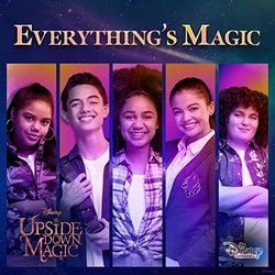 Upside-Down Magic: Everything's Magic Soundtrack (Various Artists, Tom DeLonge) - CD cover
