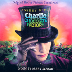Charlie and the Chocolate Factory Soundtrack (Danny Elfman) - CD cover