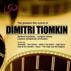 The greatest film scores of Dimitri Tiomkin Soundtrack (Dimitri Tiomkin) - CD cover