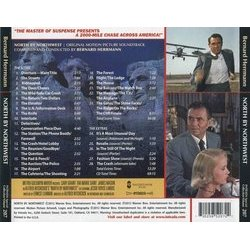North by Northwest Bande Originale (Bernard Herrmann) - CD Arrière