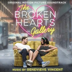 The Broken Hearts Gallery Soundtrack (Genevieve Vincent) - CD-Cover