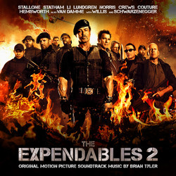 The Expendables 2 Soundtrack (Brian Tyler) - CD cover