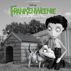 Frankenweenie Soundtrack (Danny Elfman) - CD cover