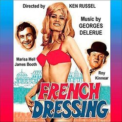 French Dressing Trilha sonora (Georges Delerue) - capa de CD
