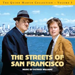 The Quinn Martin Collection Vol.3: The Streets of San Francisco Trilha sonora (Patrick Williams) - capa de CD
