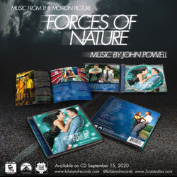 Forces of Nature Bande Originale (John Powell) - cd-inlay