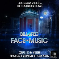 Bill And Ted Face The Music: Beginning Of The End サウンドトラック ( Weezer) - CDカバー