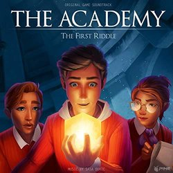 The Academy the First Riddle Soundtrack (Sasa Dukic) - CD cover