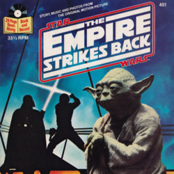 The Story of Star Wars: The Empire Strikes Back Soundtrack (John Williams) - CD cover