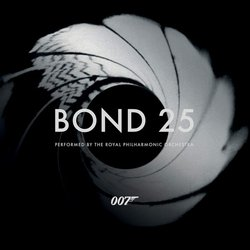 Bond 25 Soundtrack (Various Artists, Royal Philharmonic Orchestra) - CD cover