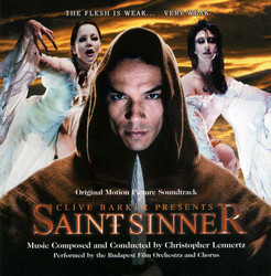 Saint Sinner Soundtrack (Christopher Lennertz) - CD cover