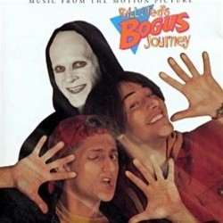 Bill & Ted's Bogus Journey Soundtrack (Various Artists) - CD-Cover
