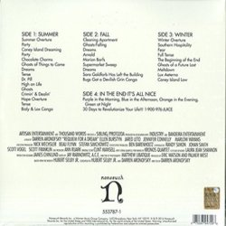 Requiem For A Dream Soundtrack (Clint Mansell, Kronos Quartet) - CD Back cover