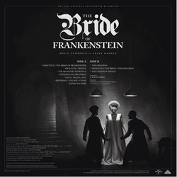The Bride of Frankenstein Bande Originale (Franz Waxman) - CD Arrière