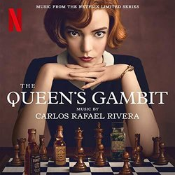 The Queen's Gambit Soundtrack (Carlos Rafael Rivera) - CD-Cover