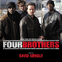 Four Brothers Soundtrack (David Arnold) - CD cover