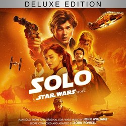 Solo: A Star Wars Story Soundtrack (John Powell, John Williams) - CD cover