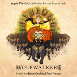Wolfwalkers Soundtrack (Various Artists, Bruno Coulais) - CD cover