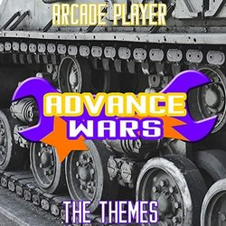Advance Wars, The Themes Soundtrack (Arcade Player) - CD-Cover