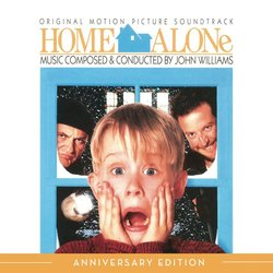Home Alone Soundtrack (John Williams) - CD cover