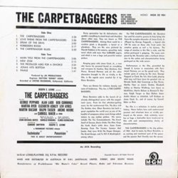 The Carpetbaggers Bande Originale (Elmer Bernstein) - CD Arrière