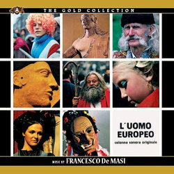 L'Uomo Europeo Soundtrack (Francesco De Masi) - CD cover