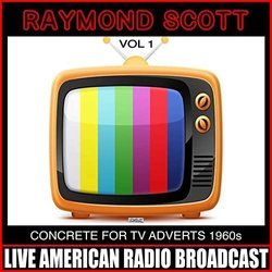 Concrete For TV Adverts 1960s Vol 1 Soundtrack (Raymond Scott) - Carátula