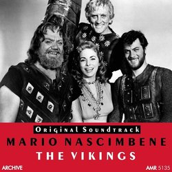 The Vikings Soundtrack (Mario Nascimbene) - CD cover