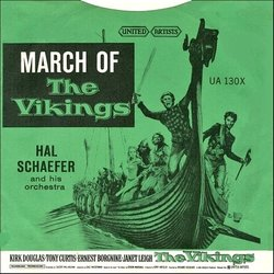 The Vikings: March Of The Vikings Soundtrack (Various Artists, Mario Nascimbene) - Carátula