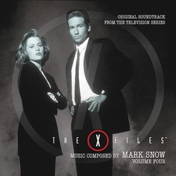 The X-Files: Volume Four Soundtrack (Mark Snow) - Carátula