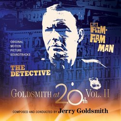 Goldsmith At 20th Vol. 2 – The Detective / The Flim-Flam Man 声带 (Jerry Goldsmith) - CD封面