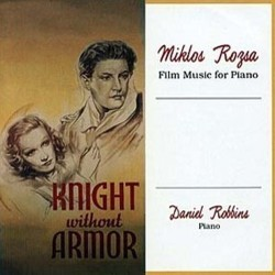 Knight Without Armour Soundtrack (Miklós Rózsa) - CD cover