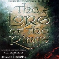The Lord of the Rings Soundtrack (Leonard Rosenman) - CD cover