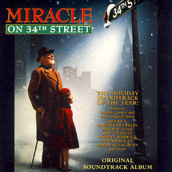 Miracle on 34th Street Soundtrack (Various Artists, Bruce Broughton) - CD cover