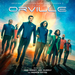 The Orville: Season 2 Soundtrack (Andrew Cottee, John Debney, Joel McNeely) - CD cover