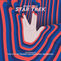 Music From Star Trek Soundtrack (Jerry Goldsmith) - CD cover