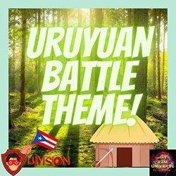 Uruyuan Battle Theme Soundtrack (Luivision ) - CD cover