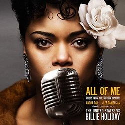 The United States vs. Billie Holiday: All of Me Soundtrack (Andra Day) - CD cover