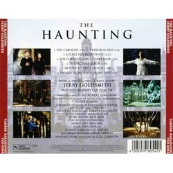 The Haunting Soundtrack (Jerry Goldsmith) - CD Back cover