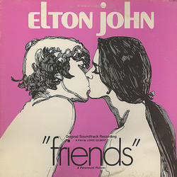 Friends Colonna sonora (Paul Buckmaster, Elton John) - Copertina del CD