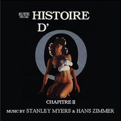 Histoire d'O: Chapitre 2 Soundtrack  (Stanley Myers, Hans Zimmer) - CD cover