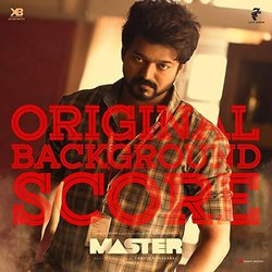 Master Soundtrack (Anirudh Ravichander) - CD cover