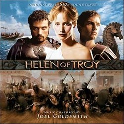 Helen of Troy Soundtrack (Joel Goldsmith) - CD cover