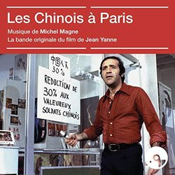 Les Chinois à Paris Soundtrack (Michel Magne) - CD cover
