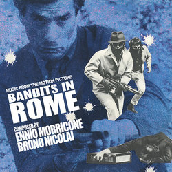 Bandits in Rome Soundtrack (Ennio Morricone, Bruno Nicolai) - CD cover