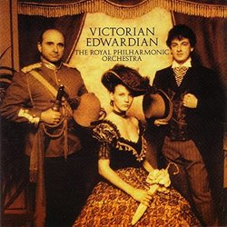 Victorian Edwardian Soundtrack (Alexander Faris) - CD cover