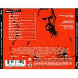 American History X Soundtrack (Anne Dudley) - CD Trasero