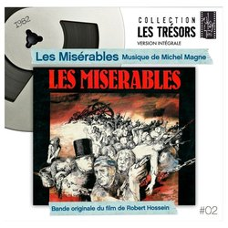 Les Misérables Soundtrack (Michel Magne) - CD cover