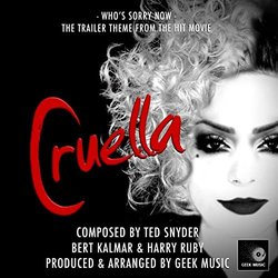 Cruella: Who's Sorry Now Bande Originale (Bert Kalmar, Harry Ruby, Ted Snyder) - Pochettes de CD