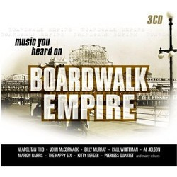 Music You Heard on Boardwalk Empire Soundtrack (Various Artists) - Carátula